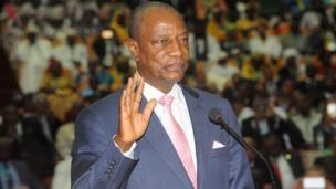 Le président Guinéen Alpha Condé refuse de discuter de la limitation de mandat (Interview exclusive de BBC Afrique)