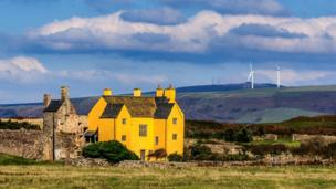 Sker House near Porthcawl, by Nick Dallimore