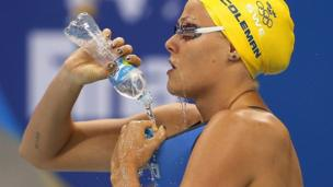 Мишель Колеман, пловчиха из Швеции на Олимпиаде в Рио
