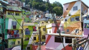 Illumination in Engagement award winner - Favela Painting by Richard Smith, department of geography