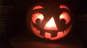 Thalia's pumpkin