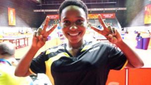 Fathiya Pazi mcheza tenisi ya meza Tanzania