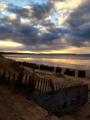 Roseisle beach