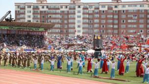 """Монголияда """"Наадам"""" улуттук оюндары башталды."""