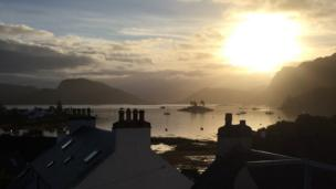 Sunrise over Plockton