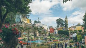 Portmeirion Village welcomes visitors for Festival No 6's fourth year.
