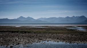View of Skye from Applecross