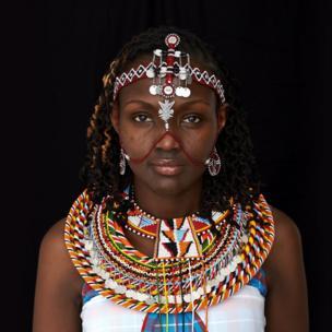 Josephine Kulea, founder of Samburu Girls Foundation, Kenya