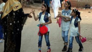 أطفال في العيد