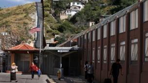 अमरीका मेक्सिको सीमा