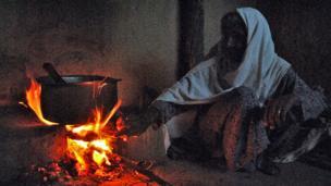 قبائلی خاتون