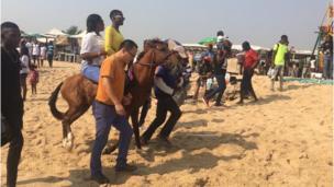 Horse riding for Elegushi beach.