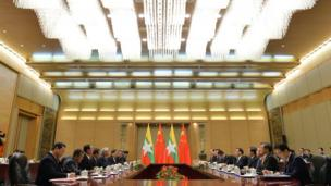တရုတ်ဝန်ကြီးချုပ် လီကချန်းကလည်း သမ္မတ ဦးထင်ကျော်ကို ကြိုဆို