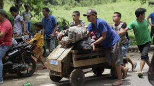 Người dân chạy khỏi Marawi