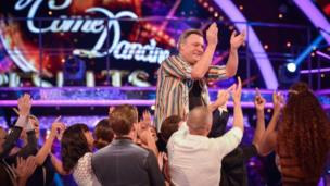 Ed Balls exits Strictly