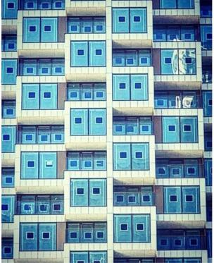 Canary wharf balconies