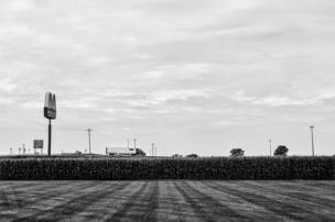 American landscape in Illinois