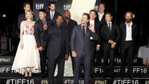 Denzel Washington, Chris Pratt and other stars of The Magnificent Seven