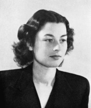 French-born Violette Szabo - undercover British secret agent.
