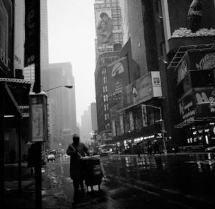 Aseo en las calles de Nueva York.