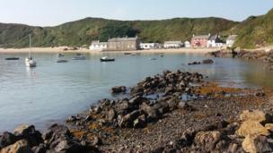 Porthdinllaen on the Llŷn Peninsula