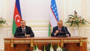 İlham Əliyev və İslam Kərimov, 27 sentyabr 2010
