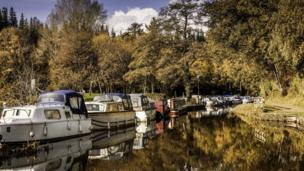 Julie Morgan took this picture at Goytre Wharf during a walk on a earlier in the autumn.