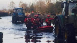 NIFRS flood rescue