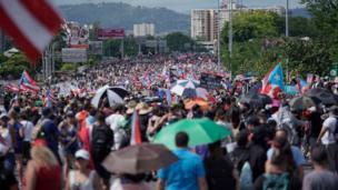 Protestas Puerto Rico