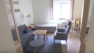 Apartemen untuk para anggota DPR