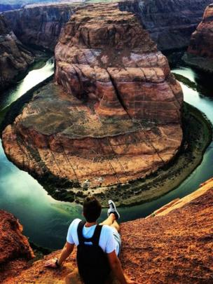 Overlooking Horseshoe Bend