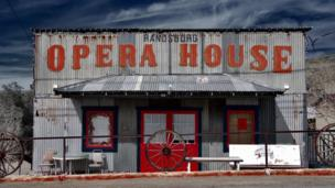 Opera House in Randsburg