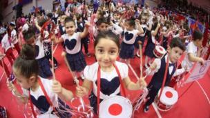 Samsun'da kutlamalar