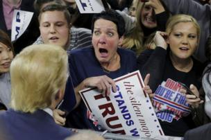 Donald Trump, pendukung partai Republik, Amerika Serikat