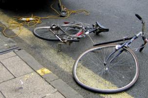 Sawn bicycle