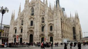 Cocin Milan Cathedral