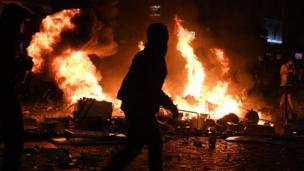 أعمال العنف خلال مظاهرات قمة العشرين