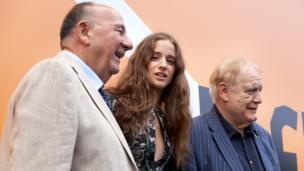 Janos Edelényi, Coco König and Brian Cox