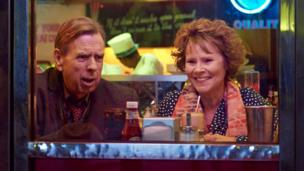 Timothy Spall and Imelda Staunton in Finding Your Feet
