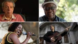 Rod Temperton, Papa Wemba, Bap Kennedy and Sharon Jones