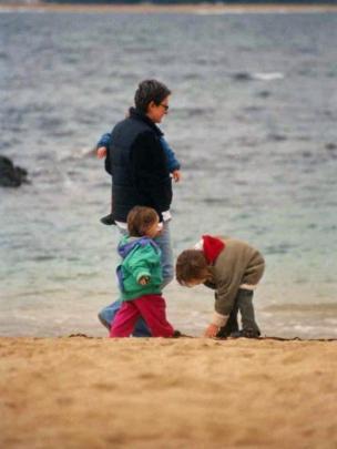 Paula Sáenz con sus hijos (Crédito: Paula Sáenz)