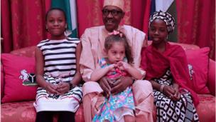 Buhari, Aisha Aliyu Gebbi ati Nicole Benson