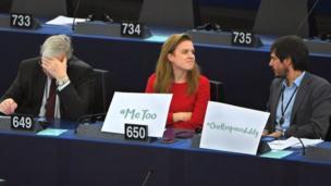 #metoo : harcèlement sexuel au parlement européen. Des députés décrient, le président du parlement dément.