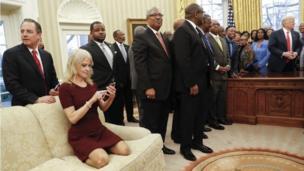 صور غير مألوفة في البيت الأبيض
