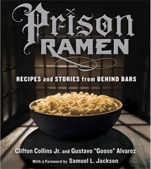 Title page of Prison Ramen cookbook