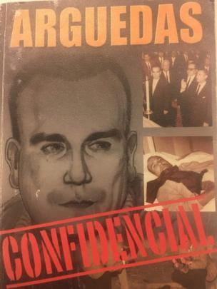Tapa del libro Arguedas Confidencial