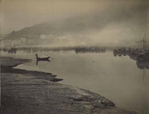 Dawn in Causeway Bay, 1948.