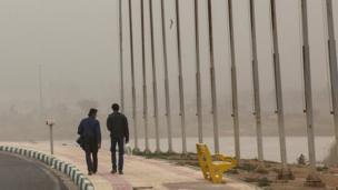 آلودگی هوا در شهر اهواز