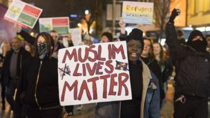Cardiff protesto