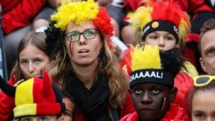 Les Diables rouges de la Belgique n'iront pas en finale de la Coupe du monde. Leur défaite (1-0 ) face à la France semble difficile à avaler par les fans qui suivaient le match en direct à Bruxelles.